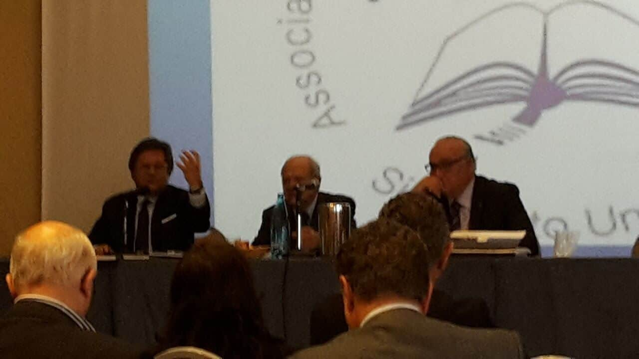 Presidente Francesco Longobardi Tiziano Treu Maurizio Castro