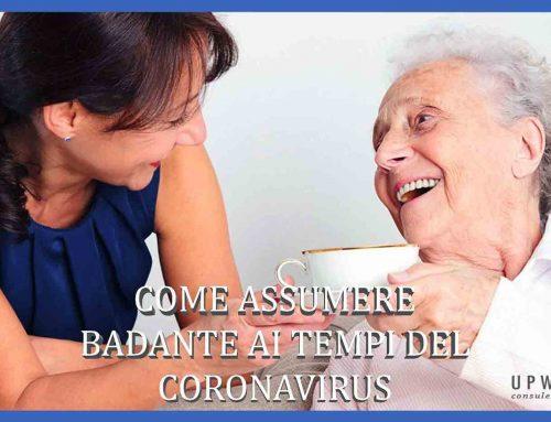 Assumere una colf o badante online ai tempi del coronavirus
