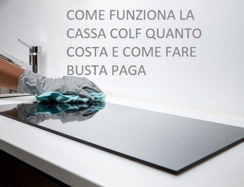 COME FUNZIONA LA CASSA COLF QUANTO COSTA E COME FARE BUSTA PAGA
